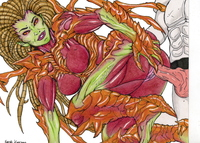starcraft kerrigan hentai vyndicate pictures user sarah kerrigan colored