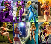 super smash bros brawl hentai otherstuff metroid zeromission collage endings
