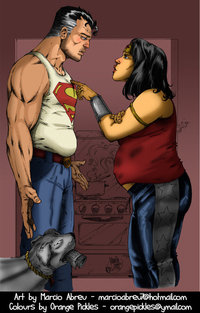 superman and wonder woman hentai pre marriage superman wonderwoman orangepickles fansites graphiccity news