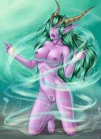 wow hentai shina ysera wow posing lucky fans pictures search query hentai shina page