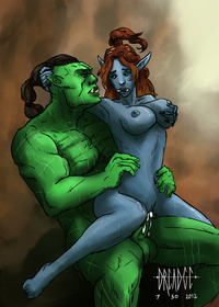 wow troll hentai dreadge world warcraft orc troll