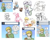 zelda skyward sword hentai comic pre skyward sword dump snake man jmgf morelikethis digitalart